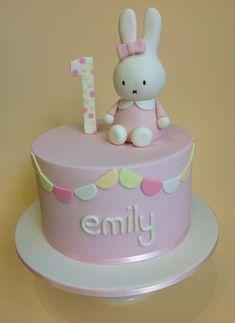 miffy cake first birthday - Google Search