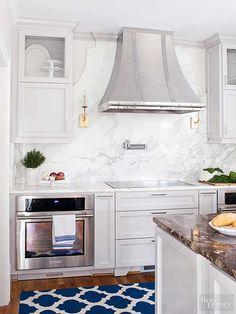 5 Inspired Solid Slab Granite Marble Or Quartz Backsplash Ideas