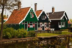 Netherlands, Architecture Building Country Dutch Real E House Colouring Pictures, Holland House, Dutch House, White Building, Traditional House, Architecture, My Dream Home, Dream Homes, Netherlands