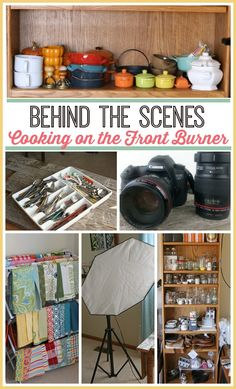 Behind the Scenes at Cooking on the Front Burner- great tips for food bloggers!