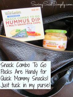 Saving Said Simply: Wild Garden Hummus Dip Review