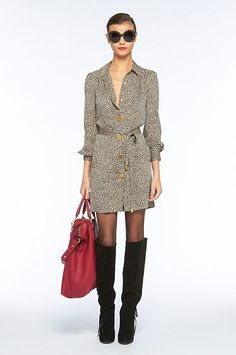 DVF ~ Tunis Dress <3  Can you say Casual Friday?