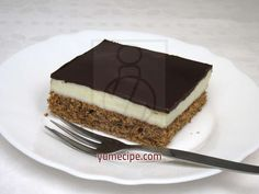We are offering a recipe for favourite creamy dessert. Popsicle cake or popsicle squares? Chocolate Topping, Chocolate Coffee, Melting Chocolate, Cooking Chocolate, Baking Tins, Sweet And Salty, Popsicles, Cake Recipes, Deserts
