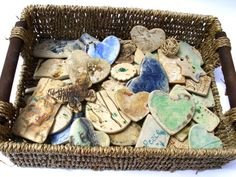 FREE handmade ceramic brooch and magnet with every order at www.charlottehupfieldceramics.com