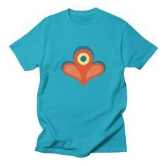 BETTY'S GARDEN [E] Men's T-shirt by Veronica Galbraith • Surface Pattern Designer