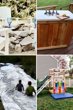Get outdoors this summer with these budget friendly diy outdoor updates. Easy fun outdoor projects for your backyard, patio, front yard or garden. Backyard Landscaping, Backyard Patio, Backyard Ideas, Greenhouse Shed, Lounge Party, Diy Outdoor Furniture, Get Outdoors, Diy Patio, Outdoor Projects