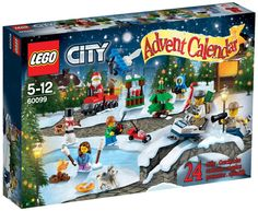Lego 60099 - City Adventskalender: Amazon.de: Spielzeug