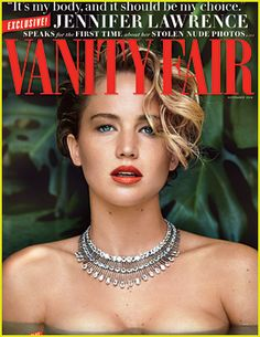 Jennifer Lawrence Vanity Fair Issue