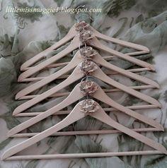 Pretty Rose Hangers