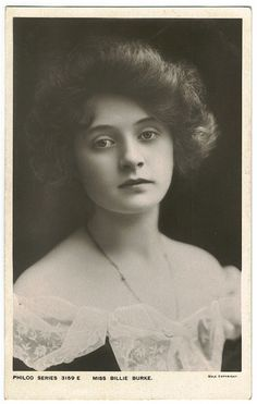 Miss Billie Burke
