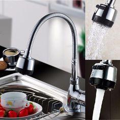 Robinet Mitigeur Pivotant 360° Laiton Chrome Lavabo Evier Cuisine Salle de Bain | Bricolage, Plomberie, sanitaires, Plomberie, robinetterie | eBay!