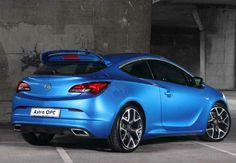 2017 Opel Astra OPC Model