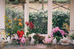 summer garden gathering at Valdirose e qualche storia