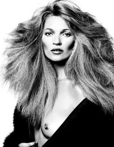 KATE MOSS by DAVID BAILEY.