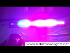 Off road jeep & Vehicle LED Light bar,strobe light bar,Police/Vehicle LED warming lights,led flashing lightbar