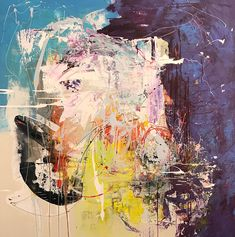 Abstracts by Leslie Newman | Https://www.leslienewmanart.com/mysite-1 | Works On Canvas