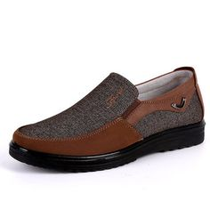 Men Large Size Old Beijing Style Casual Cloth Shoes - NewCile