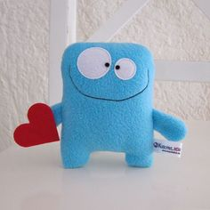 Gifts For Babies and Toddlers - Stofftiere Sewing Toys, Sewing Crafts, Sewing Projects, Felt Crafts, Fabric Crafts, Kids Crafts, Monster Dolls, Sewing Stuffed Animals, Stuffed Animal Patterns