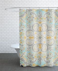 Gypsy Floral als Duschvorhang