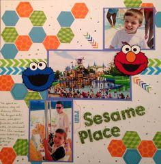 Sesame Place - Scrapbook.com