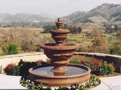 1000 images about love fountains 7 on pinterest water - Spanish style water fountains ...