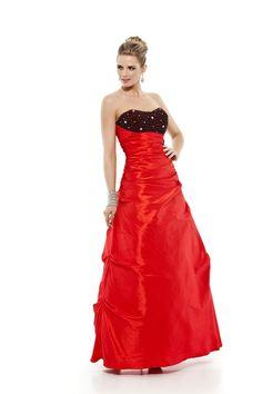 Vestido longo tomara que caia com rico bordado no busto em miçangas, canutilhos e strass. Cod. 101320   #zumzum #zumzumfesta #vestido #festa #vestidodefesta #dress #partydress