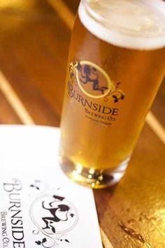 Burnside Brewing Company in Portland.
