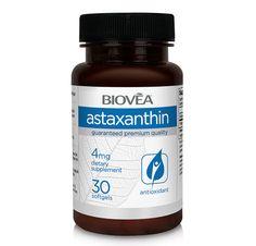 ASTAXANTHINE 4mg 30 Capsules Molles | BIOVEA