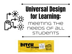 Universal Design For Learning Meeting The Needs Of All - Universal Design For Learning Udl Provides The Opportunity For All Students To Access Participate In And Progress In The General Education Curriculum By Reducing Barriers To Instruction Learn Mor Technology Tools, Educational Technology, Assistive Technology, Learning Tools, Student Learning, Inclusion Classroom, I School, Middle School, School Ideas
