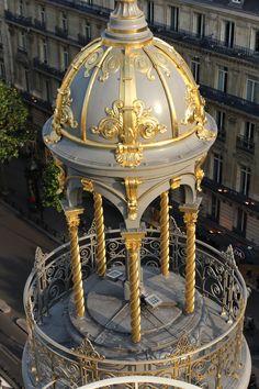 Cupolas of the department store le Printemps, Boulevard Haussmann, Paris 9th arr.