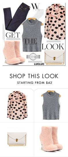 """""""Get the Look"""" by mycherryblossom ❤ liked on Polyvore featuring Balenciaga, Topshop, Fendi and Marc by Marc Jacobs"""