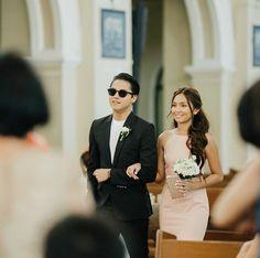 KathNiel on Justine's Wedding Daniel Padilla, Kathryn Bernardo, Bell Bottoms, Dj, Gowns, Wedding, Dresses, Dating, Future