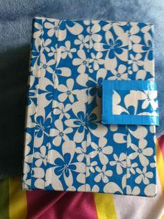Duct tape school supplies binder