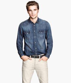 H&M Denim Shirt $34.95