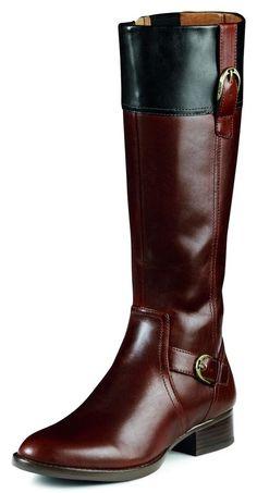 Ariat English Boots Womens York Leather Grain Brown Black 10005045 #Ariat #RidingEquestrian