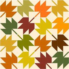 maple-leaves-quilt tutorial