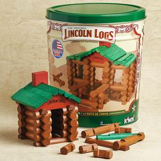 Lincoln Logs 100th Anniversary Building Set