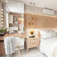 15 1 cool rose gold home decor accessories Home Bedroom, Bedroom Wall, Bedroom Decor, Master Bedrooms, Bedroom Ideas, Bedroom Mirrors, Mirror Headboard, Wooden Bedroom, Wood Headboard