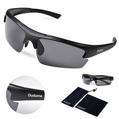 edddcbf762f3e Duduma Polarized Designer Fashion Sports Sunglasses for Baseball Cycling  Fishing Golf Tr62 Superlight Frame ((