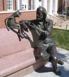 Jim Henson and Kermit the Frog by curesque.deviantart.com on @DeviantArt