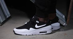 "Nike Air Max 1 Ultra Moire ""Black & White"" 