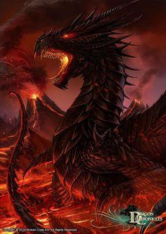Адриана де Тайлер в облике Чёрного дракона