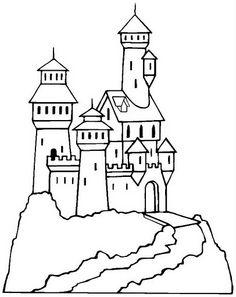 Dibujo de castillo 3