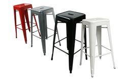 Taburetes altos apilables interior y exterior FS tolix | Muebles vintage, mobiliario retro e industrial FRANCISCO SEGARRA MOD:PODIUM