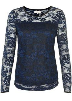 Cream Blondebluse mørkeblå 10601807 Bibi Blouse - royal navy blue – Acorns