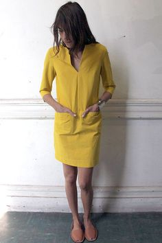 Summer dress with short sleeves or no sleeves – want in various colors