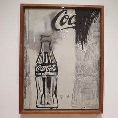 Does anyone know the icon behind this drawing? This image actually did not make it to the press... New post is up! Find the answer there! #highmuseum #cocacola #art #Atlanta #fashion #IconFound