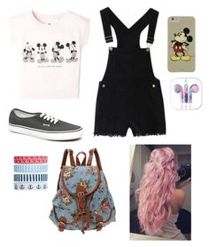 """""""Disney World outfit"""" by ash-irwin-1994 ❤ liked on Polyvore featuring MANGO, Vans and Accessorize"""