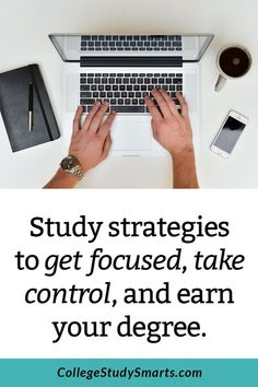 Tired of the results you are getting in school? Take the FREE 7-Day Study Challenge and get study strategies to get focused, take control, and earn your degree.Stop the procrastination habit and get studying. | College Productivity and Planning, online student productivity, college productivity, planning college semester, study habits, study plan, study plan college, procrastination college students, online course productivity tips, procrastination tips