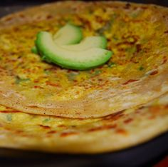 Falling-in-Love-with-Tofu Parathas - Holy Cow!